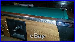 Dynamo Coin Operated Pool Table 8ft with accessories Good Working Condition