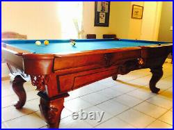 EL6001 Olhausen USA 8ft Maple Professional Pool table