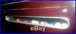 EUC, 8 FT. VALLEY DYNAMO BAR POOL TABLE, ELECTRONIC BILL COLLECTOR, MADE IN USA