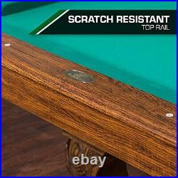 EastPoint Sports 87 Masterton Pool Table with BIlliard Cues
