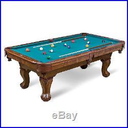 EastPoint Sports 87-inch Brighton Billiard Pool Table, Green Cloth Fun Table