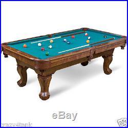 Eastpoint Sports 87 Brighton Billiard Pool Table Scratched Felt