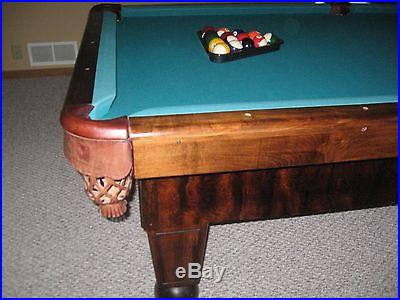 Edison Regulation Size Pool Table For Local Pickup ONLY