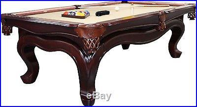 Empire USA Billiard Solid Wood Pool Table Walnut Finish with 1 slate top & felt