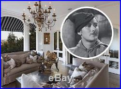 Errol Flynn's Vintage Arts & Crafts Brunswick-Balke-Collender Billiards Table