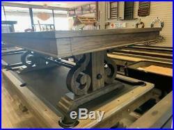 Farmington 8 foot Pool Table rustic furniture style Free shipping