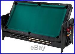 Fat Cat Black Finish 3-In-1 Pockey Table