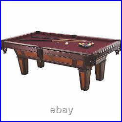 Fat Cat Pool Table with Play Package- Set of Billiard Balls, 8-Ball Rack & 2 Cues