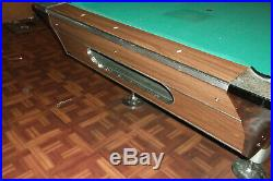 Fisher Pool table