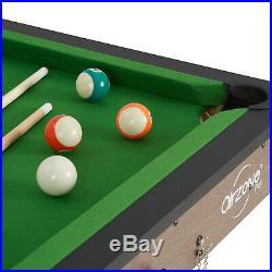Folding Pool Table Billiard Home Kids Family Game Night Room Fun Arcade Play 60