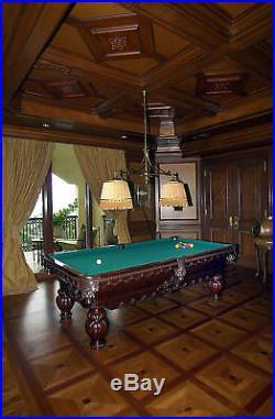 Fortress Billiards 8 ft GREEK URN NEW Pool table