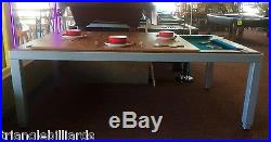 Fusion Pool Table & Dining Table By Aramith / TRIANGLE FREE STUFF TOO