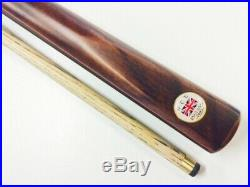 GCE English ASH Pool Snooker Billiard Cue 60 inch (Red Flame) Good Breaking Cue