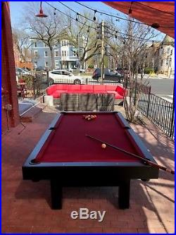 Gameroom Concepts Outdoor Pool Table Used only one month Great Condition