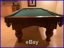 Gandy 8' Pro pool table in Excellent Condition