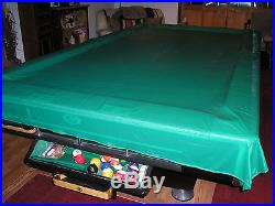Gandy 9 Ft. Pool Table with Accessories