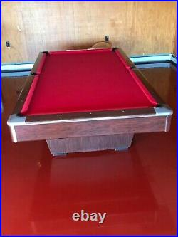 Gandy 9-ft. Pool Table + Accessories