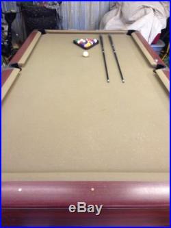 Gandy 9ft Drop Pocket Pool Table