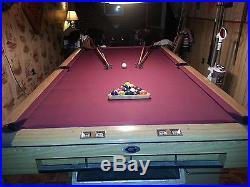 Gandy Big G pool table 9 foot