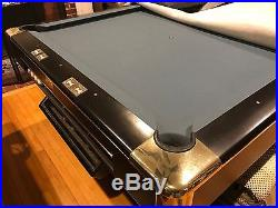Gandy Professional 9' Pool Table with Accessories