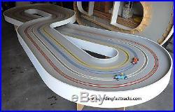 Gerding Fast Tracks 1/24 SCALE WOODEN SLOT CAR RACE TRACK