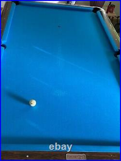 Gold crown pool table