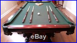 Golden West pool table custom made