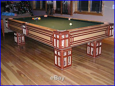 HANDCRAFTED POOL TABLE ONE OF A KIND