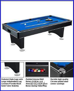 HUSTLER 7 FOOT DELUXE POOL TABLE / BILLIARDS TABLE
