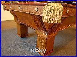 H. Wagner U0026 Adler Co The Highskore Cushion 9u0027ft. Pool Billiard Table