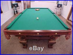 H. W. Collender pool table cir 1875