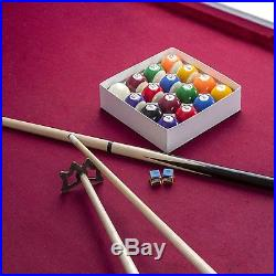 Hathaway Augusta 8 ft. Non Slate Pool Table, Maple
