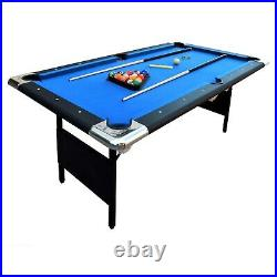 Hathaway BG2574 Fairmont 6 ft. Portable Pool Table