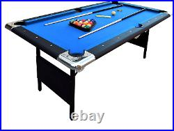 Hathaway Portable Fairmont Table Pool Easy Folding 6-Ft Families Storage Indoor