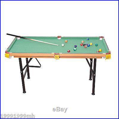 Homcom Mini Billiards Pool Table Indoor Activity Home Entertainment