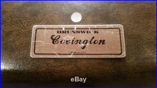 Home 8' Brunswick Covington Pool Table