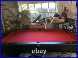 Home 8ft Pool Table (Needs Some Love)