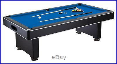 Hustler 8' Pool Table w/MDF Playfield Billiards with integral ball return system
