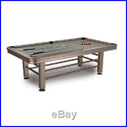 Imperial 8' Outdoor Pool Table with all Accessories / IMP 29-830