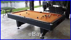 Imperial Eliminator, NEW, 8' Pool Table, 3pc Slate, FREE SHIPPING