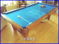Imperial International Pool Table Washington Model 8' Walnut