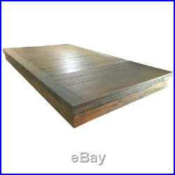 Isaac/Beaumont Pool Table Dining Top Silvered Oak Free Shipping/Local Delivery