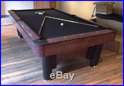 K-Steel 9FT American Pool Table By SAM Leisure Used But Refurbished