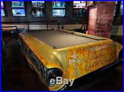 Kount Customs Pool Table 9' Billiard Pool Table