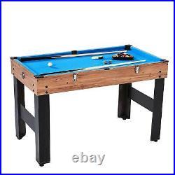 Lancaster 3 in 1 Pool Billiard, Slide Hockey, Foosball Combo Arcade Game Table