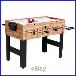 Lancaster 48 3 in 1 Pool Billiard Slide Hockey Foosball Combo Table (Open Box)