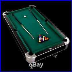 Lancaster 90 Inch Arcade Billiard Table with K-66 Bumper and Balls Included