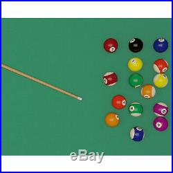 Lancaster 90 Inch Ball & Claw Pool Billiard Table with K-818 Bumper & Cue Rack