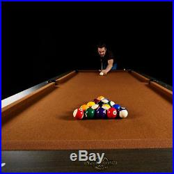 Lancaster 96 Inch High Quality Premium Wooden Billiard Table with Accessories