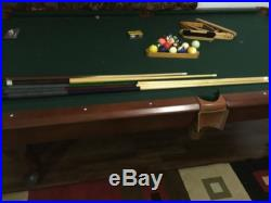 Legacy Billiards Caravel III Slate Pool Table with Accessories